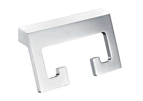 Time Square Robe Hook Chrome Etched E 2 Orig