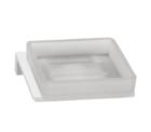 Time Square Soap Dish Chrome Etched E 2 Orig