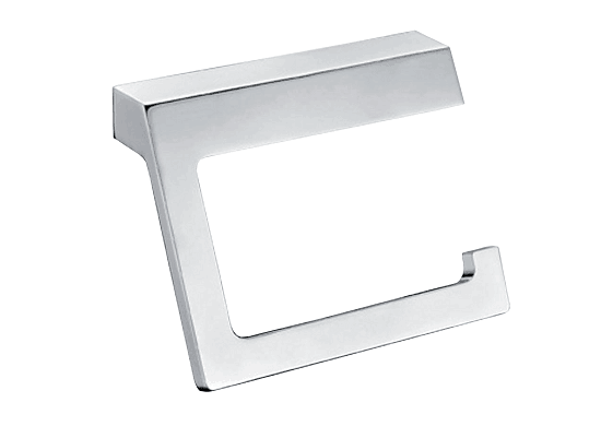 Time Square Toilet Paper Holder Chrome Etched E 2 Orig
