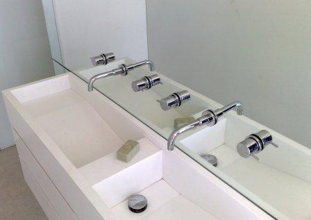White Bathroom 4 Mirror