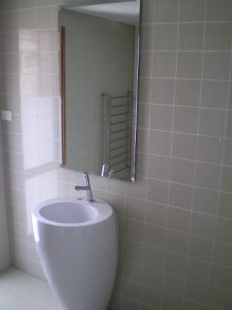 White Bathroom 8 Mirror