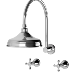 Phoenix Nostalgia Shower Set Cross Ch