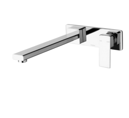 Phoenix Radii Wall Bath Set Mixer 280
