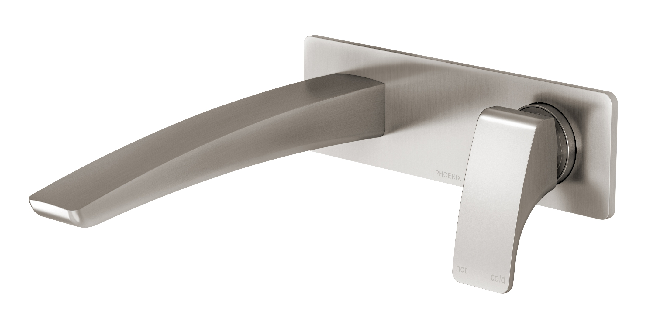 Ru785 40 Rush Wall Basin Mixer Set 180mm
