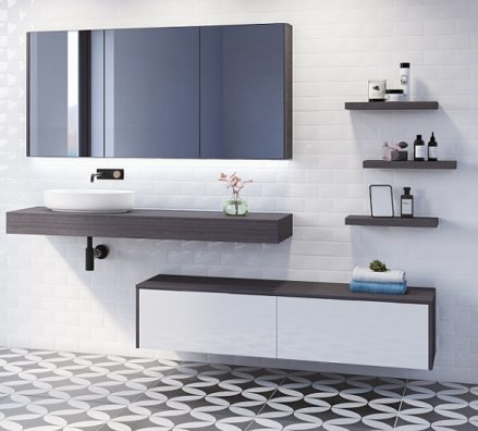 Timberline Milan Vanity 1500mm M15nw