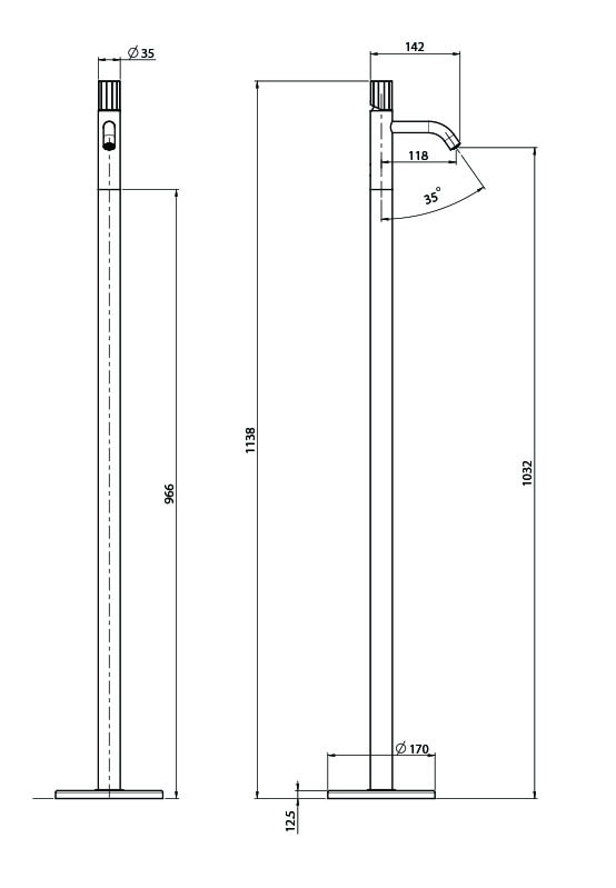 F3031pv Technical Drawing