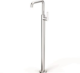 Faucet Zeos Floor Bath Mixer Square