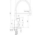 Faucet Zeos Sink Mixer Pullout Specs