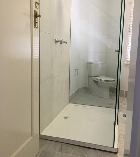 Sliding Frameless Shower Screen Sydney