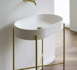 Sb Stand Basin Whiteandbrass 2