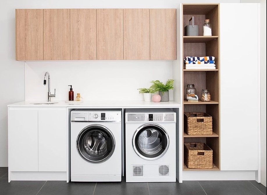 ADP - laundry cabinets   White Bathroom Co on Laundry Cabinets  id=84380