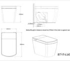 Lafeme Smart Toilet Lucci Specs