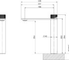117 7900 Axia Vessel Mixer Line Drawing