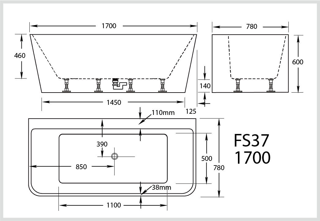 Broadway Fs37 1700 Specs