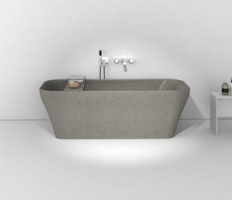 Verve Free Standing Bath Ash Grey
