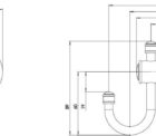 Ns897 Nostalgia Robe Hook Line Drawing