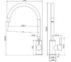 Fienza Sansa Sink Mix Ch 229105 Specs