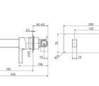 Fienza Sansa Wall Basin Set Ch 229106 Specs